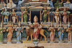 Hindoese standbeelden Stock Fotografie