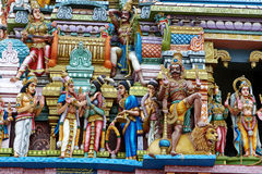 Hindoese Tempel Stock Foto