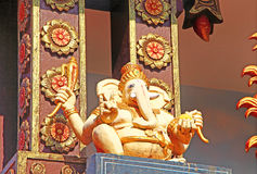 Hindoese Tempel Architecturaal Element ganesha Stock Foto