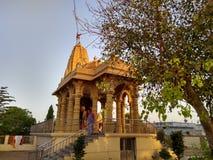 Hindoese tempel Bagathala royalty-vrije stock afbeeldingen