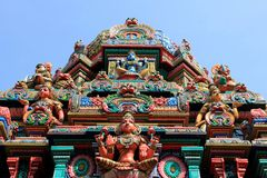 Hindoese Tempel in Bangkok Royalty-vrije Stock Afbeelding