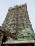 Hindoese tempel in India stock afbeeldingen
