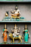 Hindoese tempel in Kuala Lumpur Maleisië stock fotografie