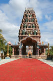 Hindoese tempel in Mauritius Stock Afbeelding