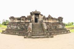Hindoese tempel Sambisari - centraal deel royalty-vrije stock afbeeldingen