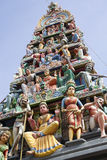 Hindoese tempel, Singapore stock afbeeldingen