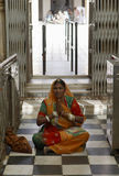 Hindoese Vrouw Royalty-vrije Stock Foto