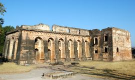 Hindola Mahal in Mandu Royalty Free Stock Photography