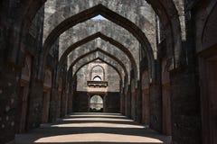 Hindola Mahal, Mandu, Madhya Pradesh stockfoto