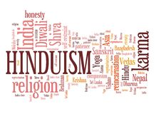 hindouisme illustration stock