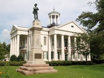Hinds County CourtHouse. In Raymond, Mississippi Stock Photo