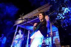 Hinds (faixa) no concerto em Vida Festival Fotografia de Stock