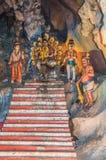 Hindu altar at Batu Caves temple Royalty Free Stock Photos