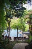 Hindu architecture in Bali Stock Photos