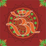 Hindu aum Royalty Free Stock Photos