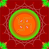 Hindu aum Stock Image