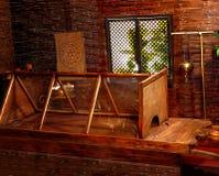Hindu ayurveda massage sauna. Stock Image