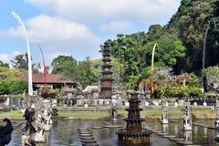 Hindu Balinese Water Palace Tirta Gangga, Bali island, Indonesia stock photo