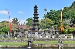 Hindu Balinese Water Palace Tirta Gangga, Bali island, Indonesia royalty free stock photo