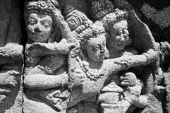 Hindu bas-relief Royalty Free Stock Photos