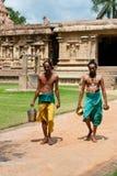 Hindu Brahmins. India Royalty Free Stock Image