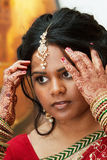 Hindu Bride royalty free stock photos