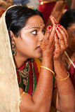 Hindu bride Stock Images