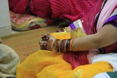 Hindu Bride Stock Photography