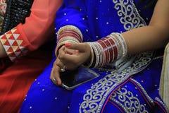 Hindu Bride Stock Image