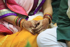 Hindu Bride Royalty Free Stock Photography