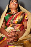Hindu Brides Hands Royalty Free Stock Images