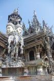 Hindu and Buddhist elements stock photo