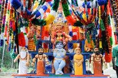 Hindu carnival festival of Kollam Stock Image