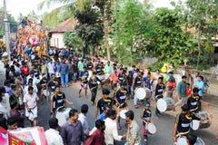 Hindu carnival festival of Kollam Stock Images