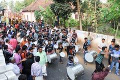 Hindu carnival festival of Kollam Stock Photos