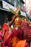 Hindu celebration Royalty Free Stock Photos