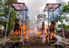 Hindu ceremony Stock Image