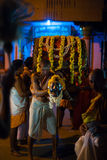 Hindu Ceremony Brahmin Carrying Palanquin India Royalty Free Stock Image