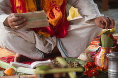 Hindu ceremony in Nepal, Shivaratri royalty free stock photography