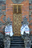 Hindu church entrance in Bali Stock Photography