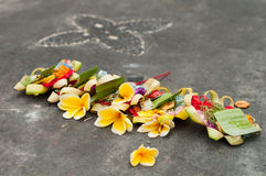 Hindu Daily Offering Royalty Free Stock Photography