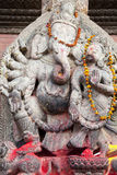 Hindu Deity at Patan Durbar Square, Nepal Royalty Free Stock Photos