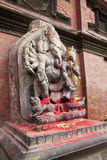 Hindu Deity at Patan Durbar Square, Nepal Royalty Free Stock Photography