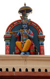 Hindu deity at Sri Mariamman Temple in Singapore Stock Images