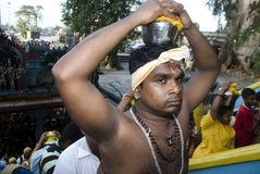 A Hindu devotee Stock Photo