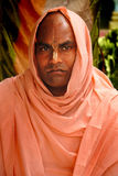 Hindu Devotee. March 08,2012 Nabadwip,Nadia,West Bengal,India,Asia- A portrait of Hindu devotee-inspired by the Chaitanya or Gauranga Mahaprabhu Royalty Free Stock Photography