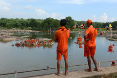 Hindu Devotee Royalty Free Stock Photos