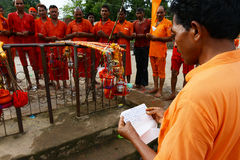 Hindu Devotee Stock Images