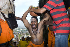 A Hindu devotees Royalty Free Stock Images