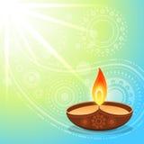 Hindu diwali festival Stock Image